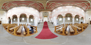 St Georg Church (10C murals), Reichenau Island 360° panorama